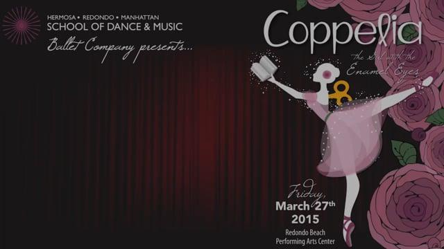 Coppelia Ballet 2015