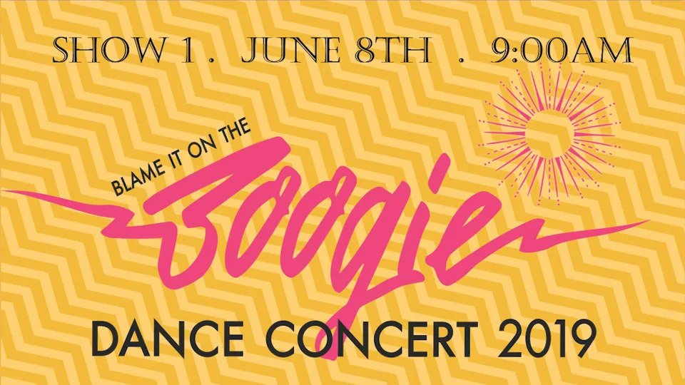 "Show 1 – ""Blame It On The Boogie"" June 2019 SDM Dance Recital"