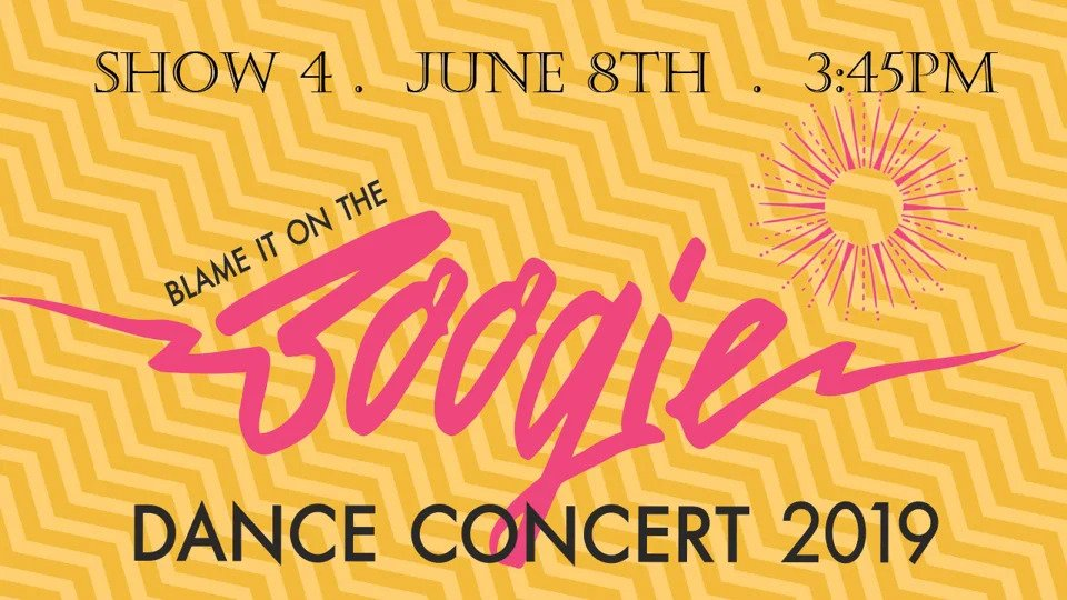 "Show 4 – ""Blame It On The Boogie"" June 2019 SDM Dance Recital"