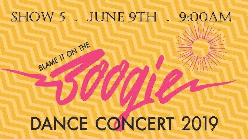 "Show 5 – ""Blame It On The Boogie"" June 2019 SDM Dance Recital"