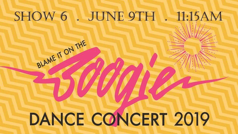 "Show 6 – ""Blame It On The Boogie"" June 2019 SDM Dance Recital"